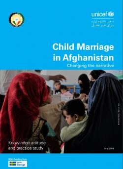 Child Marriage in Afghanistan. Changing the narrative