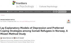 Lay explanatory models of depression and preferred coping strategies among Somali refugees in Norway