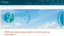 PREP - Physiotherapy and Refugees Education Project