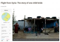 Flight from Syria: The Story of one child bride