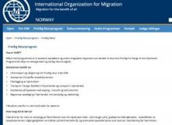 Voluntary Assistance Return Program International Organization for Migration (IOM)