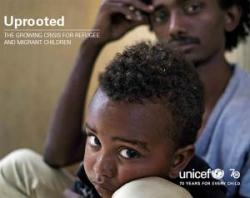 "Rapport fra UNICEF :""Uprooted -The growing crises for refugee and migrant children"""