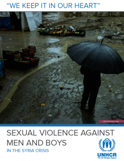 Sexual violence against men and boys in the Syria crisis